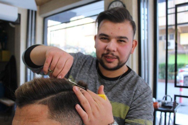 Dereceli kuaförden ücretsiz tıraş