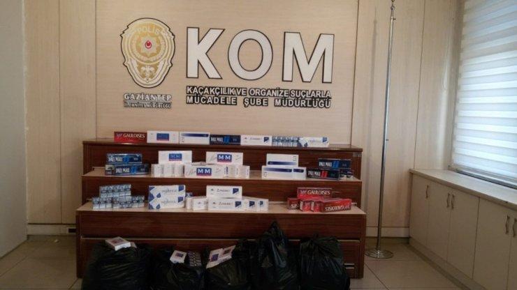 Gaziantep bir günde üç kaçak sigara operasyonu