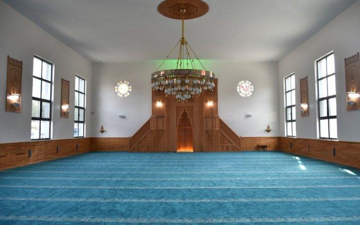 Yüzbaşı Agâh Efendi Camii hizmete açıldı