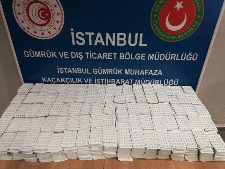 İstanbul'da 123 bin 610 adet kaçak ilaç ele geçirildi