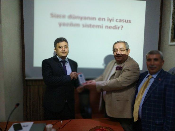 """Malatya'da """"Siber Savaşı ve Türkiye"""" konuşuldu"""