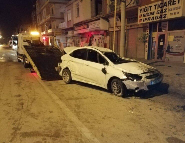 Genç polis memuru, trafik kazasında hayatını kaybetti