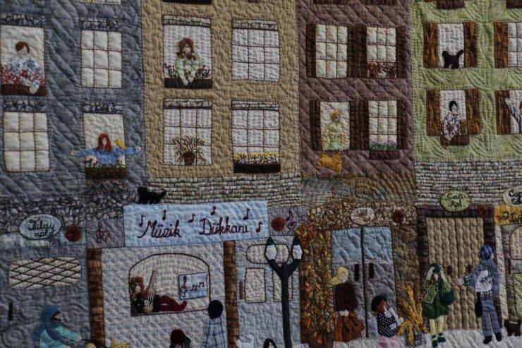 Yamalar, Ankaralı kadınların elinde sanat eserine dönüştü