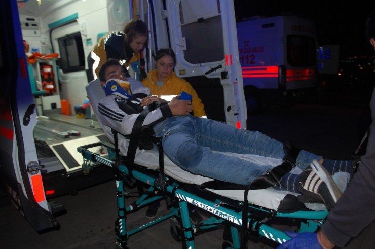 Malkara'da motosiklet kazası: 1 yaralı