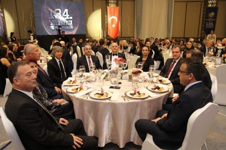 Vali Su ve Başkan Seçer, MTSO'nun 134. yıl coşkusuna ortak oldu