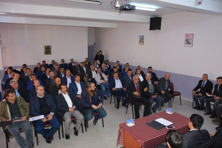 Selendi'de SYDV Mütevelli Heyeti Muhtarlık Seçimi yapıldı