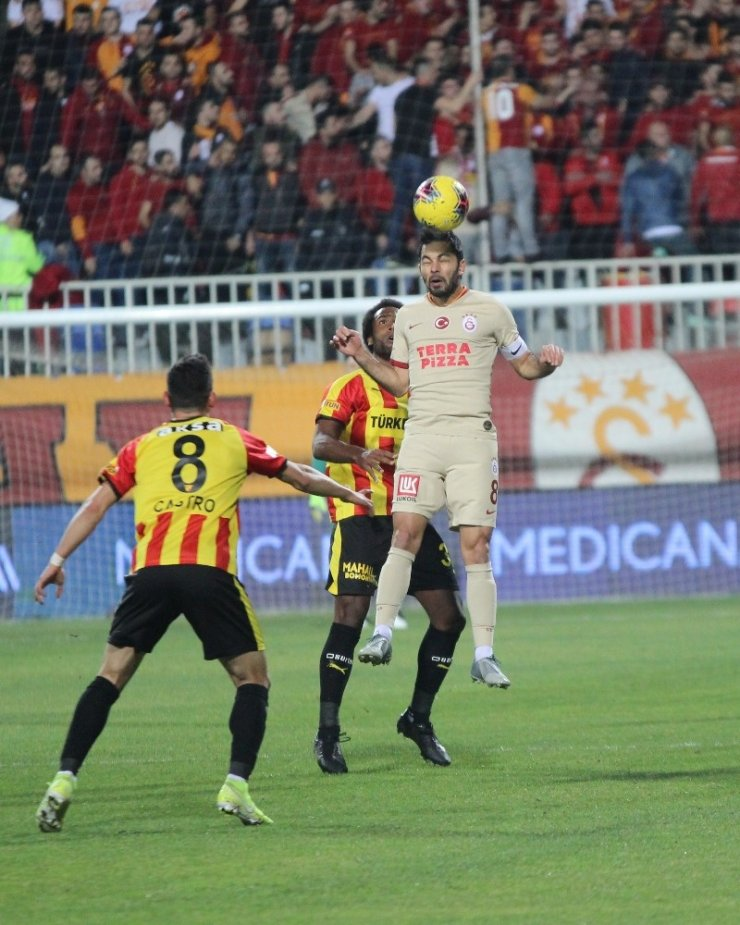 Süper Lig: Göztepe: 1 - Galatasaray: 1 (Maç devam ediyor)