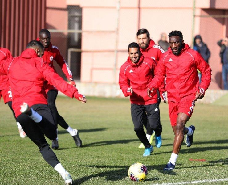 Lider Sivasspor, Gençlerbirliği maçına hazır