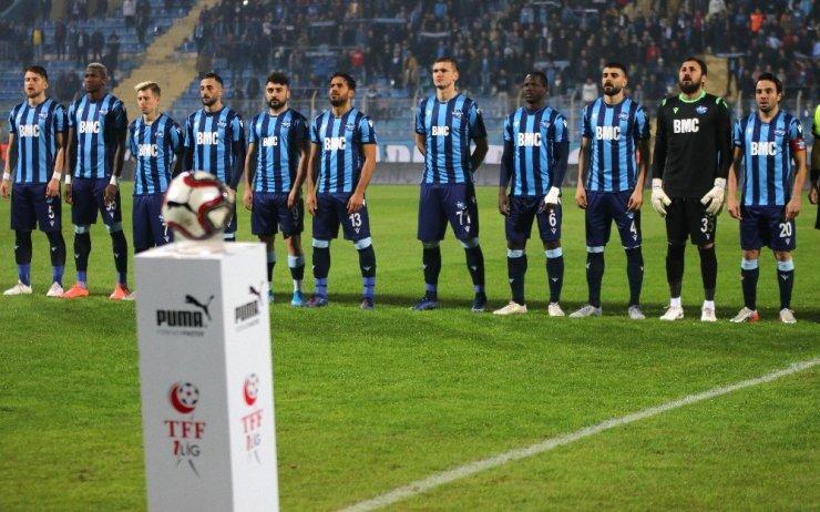 TFF 1. Lig: Adana Demirspor: 3 - Ümraniyespor: 0 (İlk yarı sonucu)