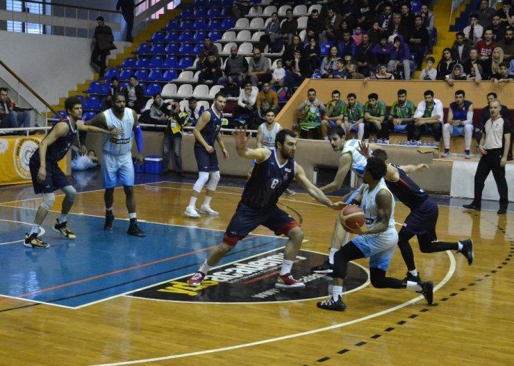 Türkiye Basketbol Ligi: Balıkesir Büyükşehir Belediyespor: 84 - Düzce Belediyespor: 79