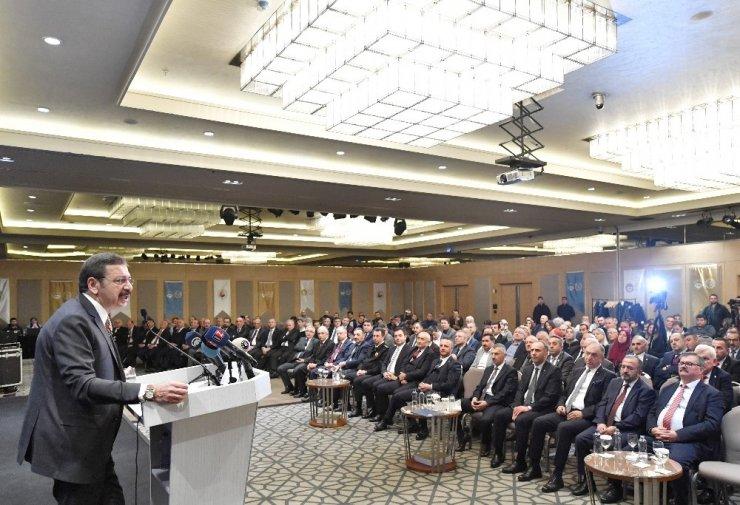"""TOBB Başkanı Hisarcıklıoğlu: """"Bütün hakları Türkiye'nin olan bir otomobille yolculuğa başlıyoruz"""""""