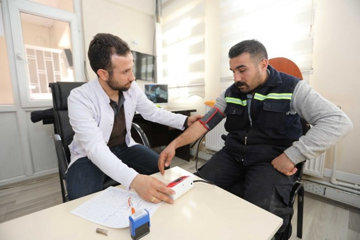 İpekyolu personeline iş sağlığı ve güvenliği eğitimi verildi