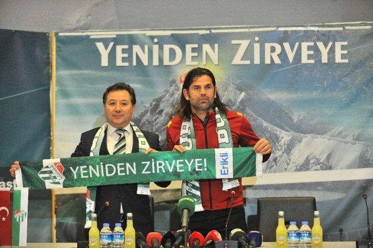 Bursaspor'da Üzülmez dönemi başladı