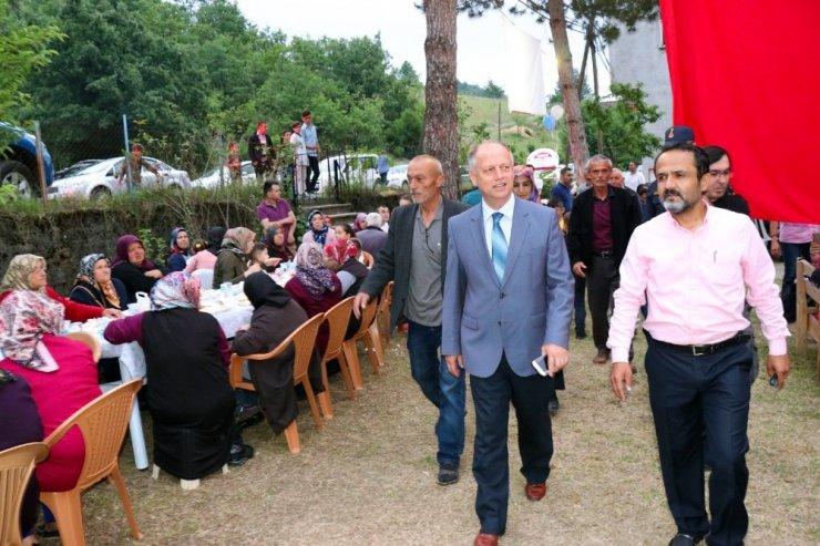 Hasbeyler Köyü'nde devlet millet iş birliğinin en güzel örneği sergileniyor