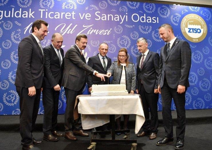 """Bakan Pekcan: """"2020 yılının küresel ekonomide daha rahat bir yıl olacağını ve Türkiye için de başarılı yıl olacağını öngörüyoruz"""""""