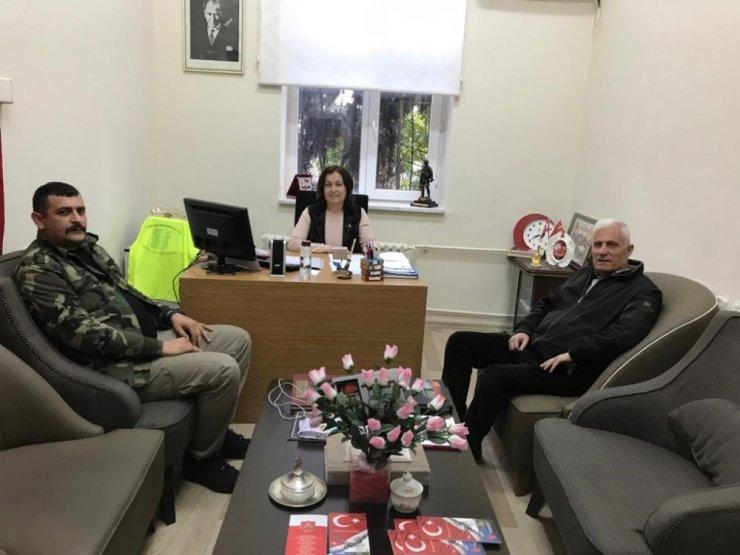 Aydın Şehit Aileleri Derneği Başkanı Esin'e yeni bir görev