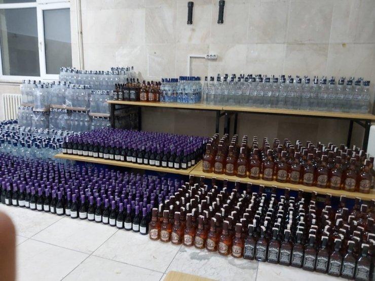 Jandarma KOM'dan kaçak alkol operasyonu: 6 gözaltı