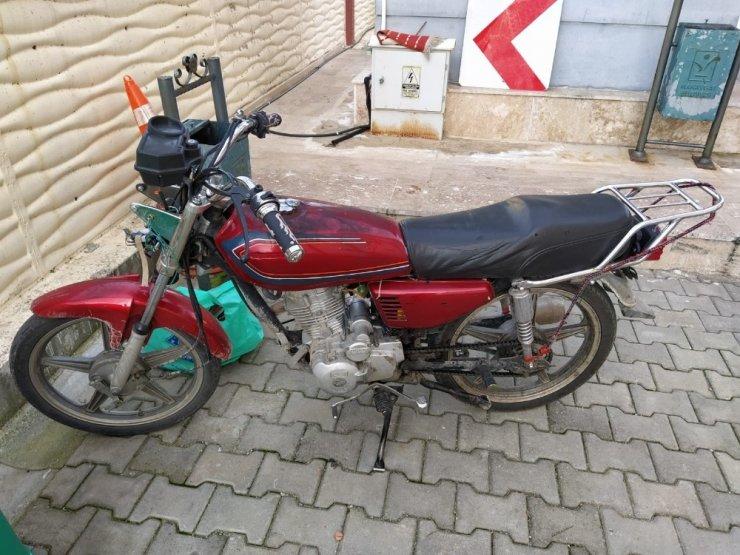 Motosiklet hırsızı cezaevine gönderildi