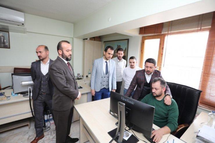 Nevşehir Belediye Başkanı Arı, hizmet birimlerini ziyaret etti