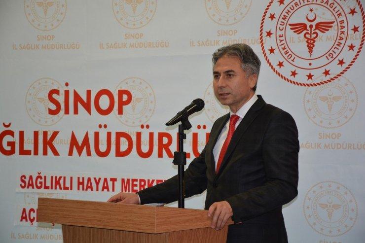 Sinop'ta Sağlıklı Hayat Merkezi açıldı