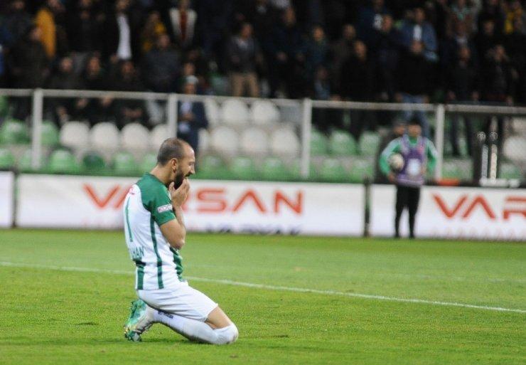 TFF 1. Lig: Giresunspor: 1 - Altınordu: 1