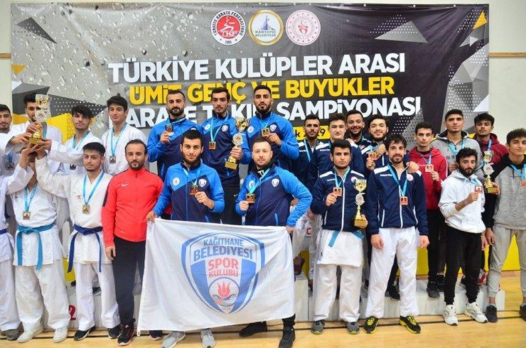 Kağıthane Belediyesi karatecileri, Türkiye şampiyonu oldu