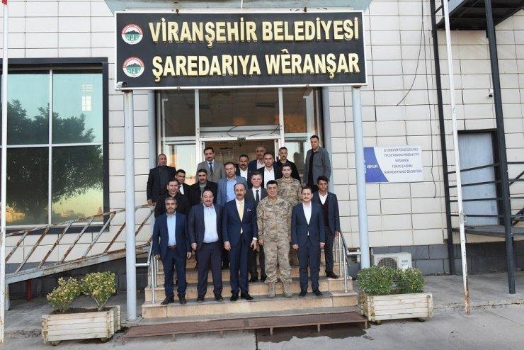 Vali Erin, Viranşehir'de vatandaşlarla buluştu