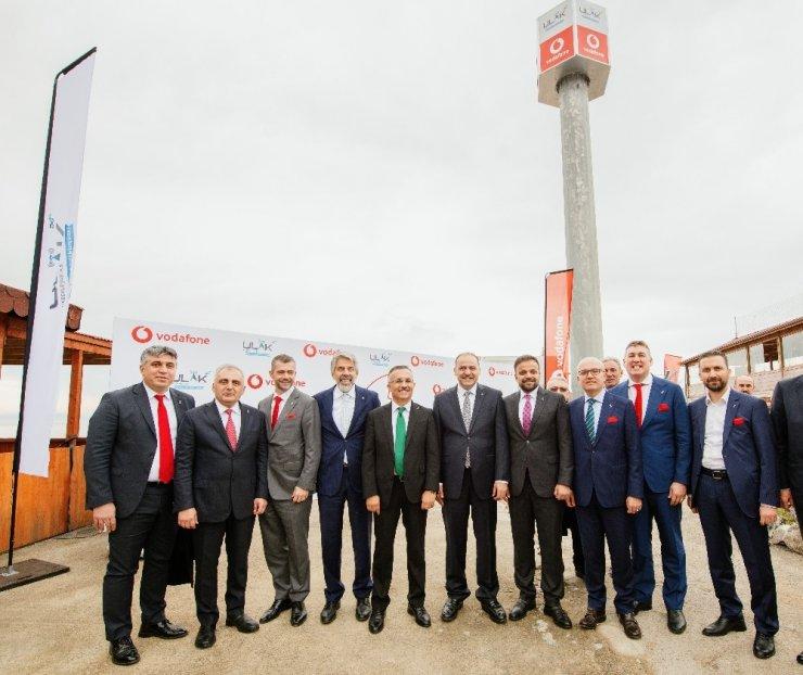Vodafone, yerli baz istasyonu ULAK'ta rekor kırdı