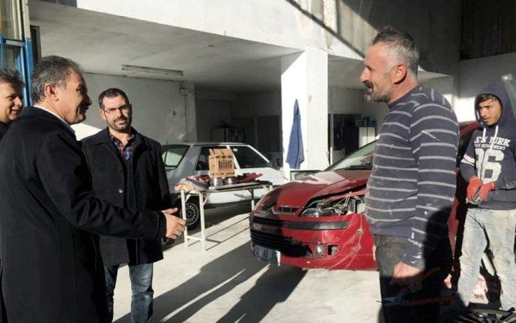 Belediye Başkanı Kılınç, KSS esnafıyla bir araya geldi