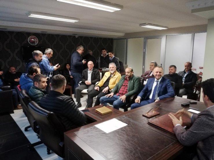 Başkan Keleş müteahhitler için AK Parti'den destek istedi