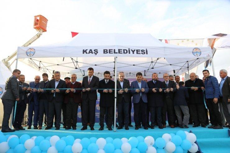 Ova İkmal ve Kademe İstasyonu açıldı