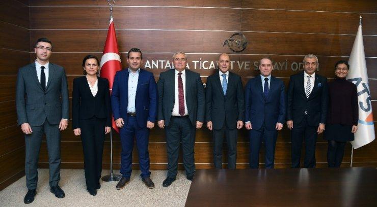 """Büyükelçi Mastropietro: """"Antalya'yı diziler ile tanıtın"""""""
