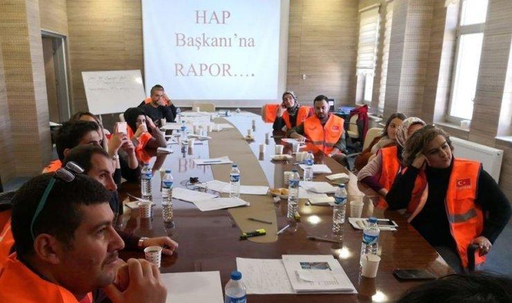 Bayburt'ta HAP eğitimi tamamlandı