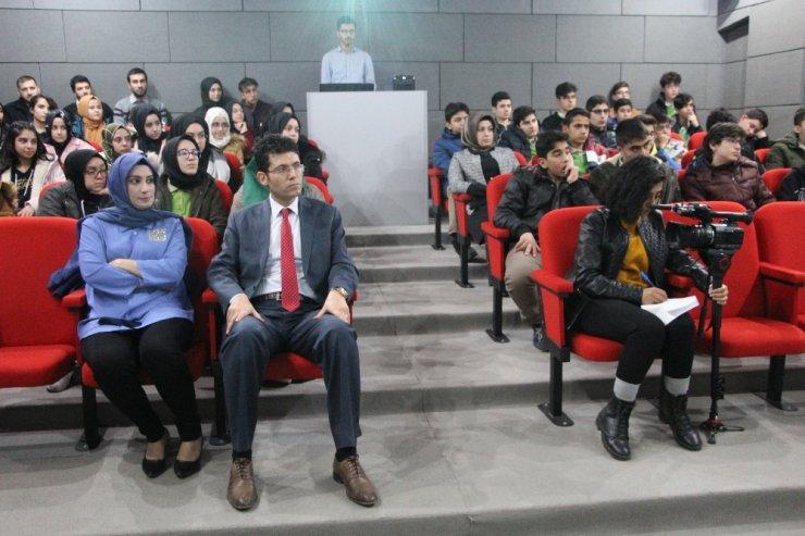 Bingöl Üniversitesi Rektörü Prof. Dr. Çapak, Elazığ'da öğrencilerle buluştu