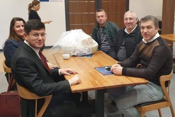 Gazeteci İsmail Küçükkaya'dan Naz-Koop'a destek