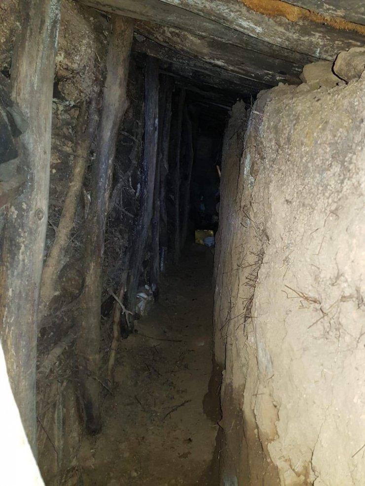 Sehi Ormanlarında 10 odalı sığınak bulundu