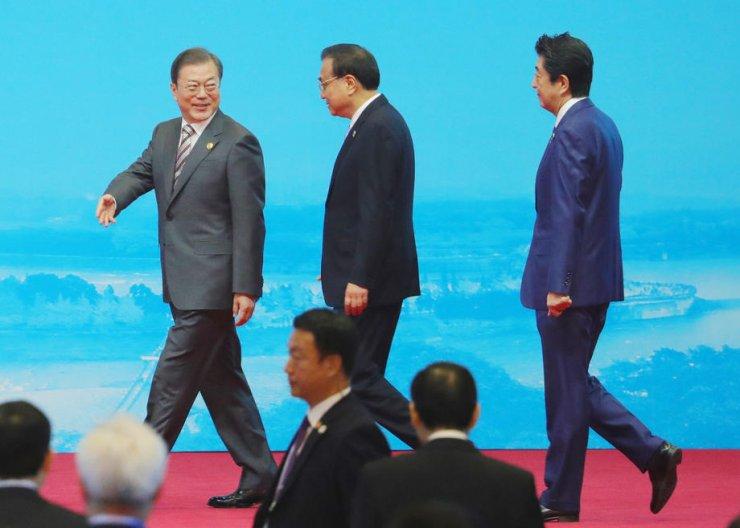 Çin-Japonya-Güney Kore zirvesi