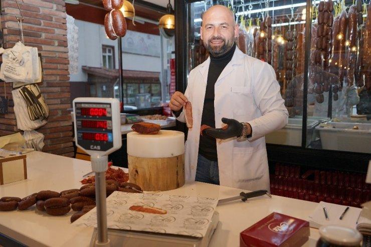 Ünü Dünya'ya dağılan Kastamonu pastırmasının fiyatı 140 liradan satılıyor