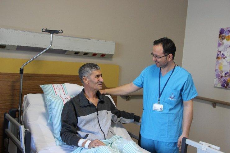 Nadir görülen kansere yakalandı, başarılı operasyonla kurtuldu