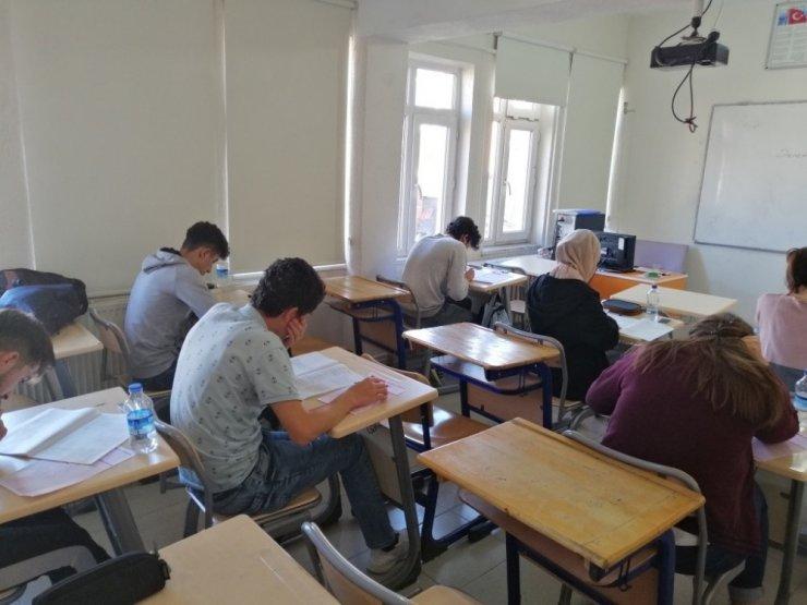 Emet'te deneme sınavı