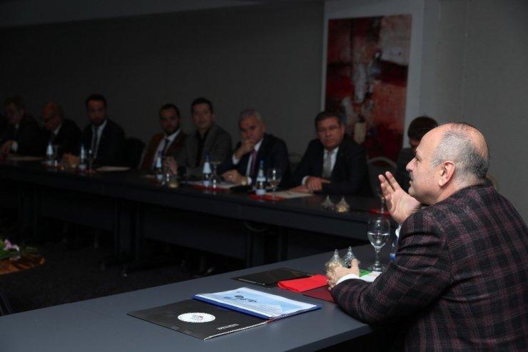 Eskişehir'de 2019 Yılı Ekonomi Değerlendirme Toplantısı yapıldı