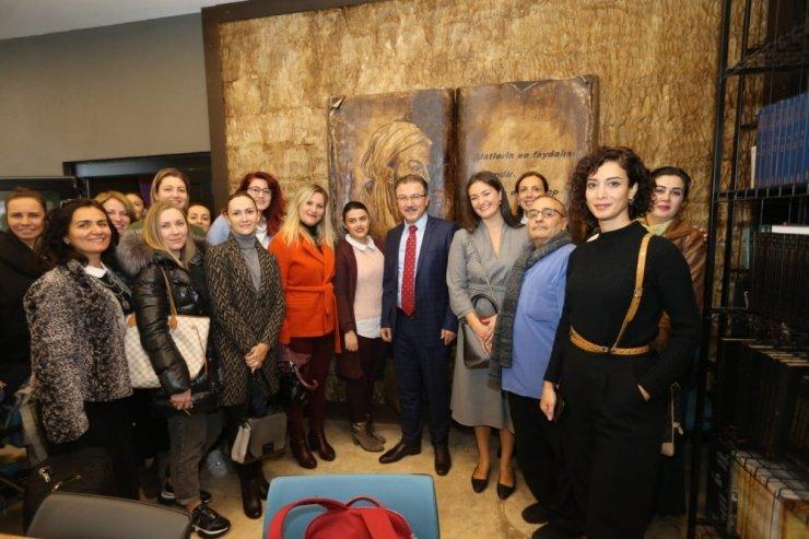 Başkan Deniz Köken Göktürklü girişimci kadınlarla buluştu