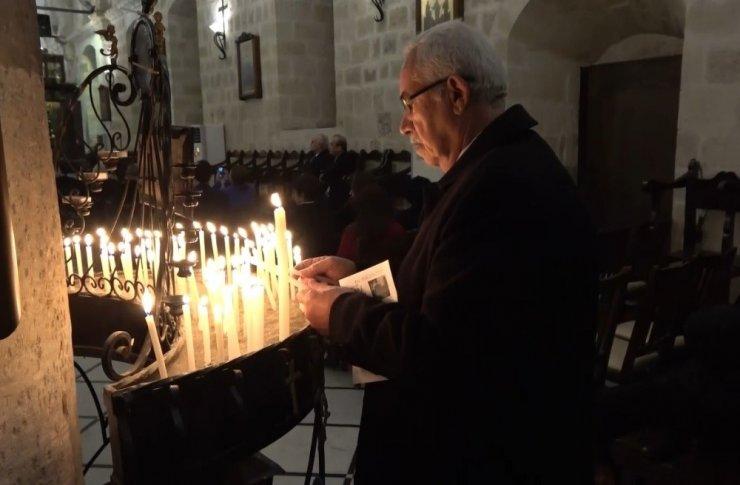 Hataylı Hristiyanlar Noel'i kutladı