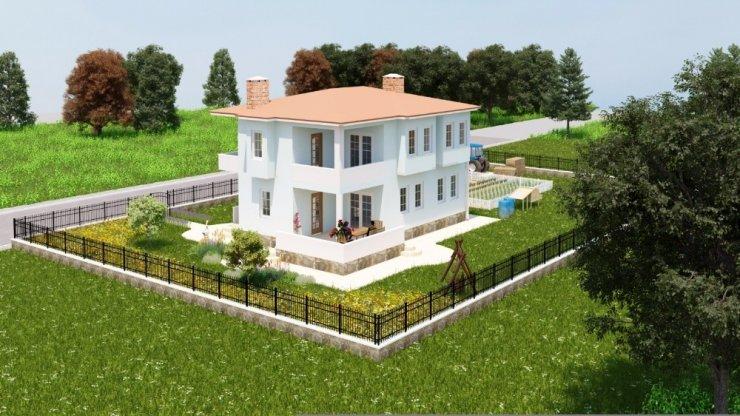 """İlkadım Belediyesinden """"köy evi"""" projesi"""