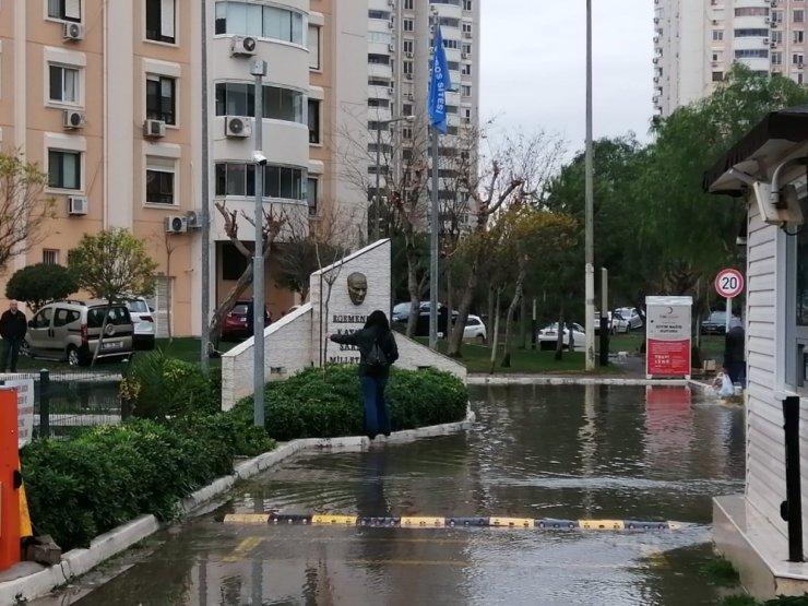 Mavişehir'de sular çekiliyor