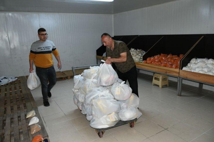 Karabük'te her ay 222 ihtiyaç sahibi aileye yardım