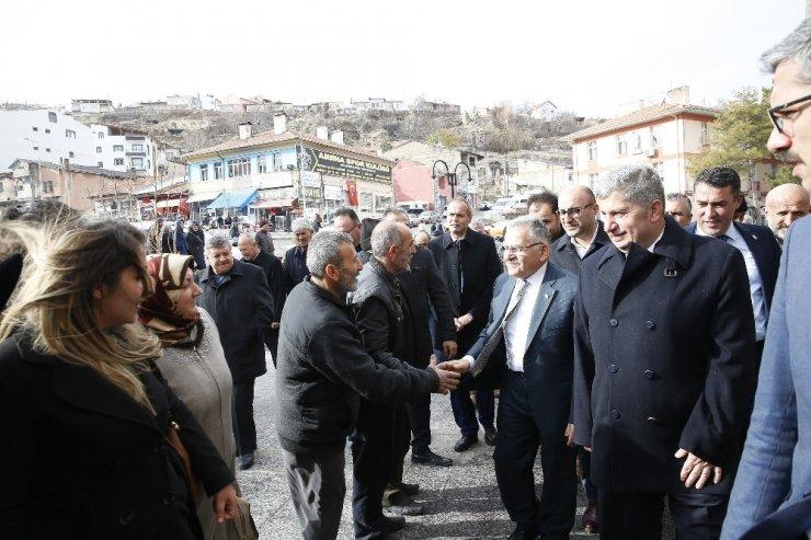 Başkan Büyükkılıç, Bünyan'da bir dizi ziyarette bulundu