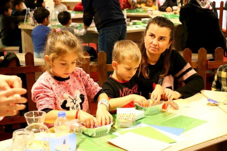300 çocuğa geri dönüşüm eğitimi