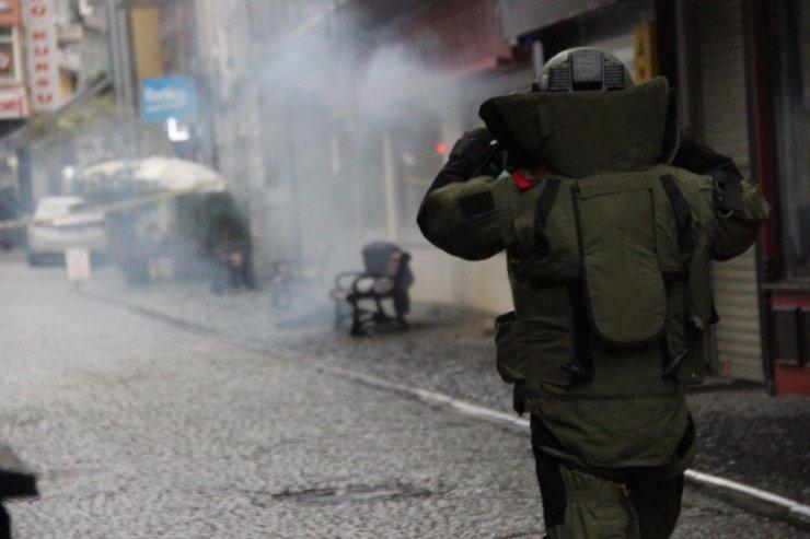 İzmit'te şüpheli paket bomba imha ekiplerini harekete geçirdi