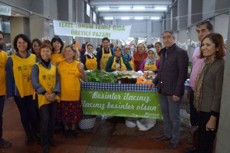 Marmaris'in organik pazarı 2 yaşında